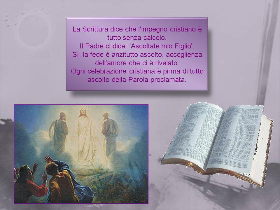 In questa seconda domenica, la parola di Dio insiste sull'importanza della nostra adesione al Signore: attraverso il racconto del sacrificio richiesto