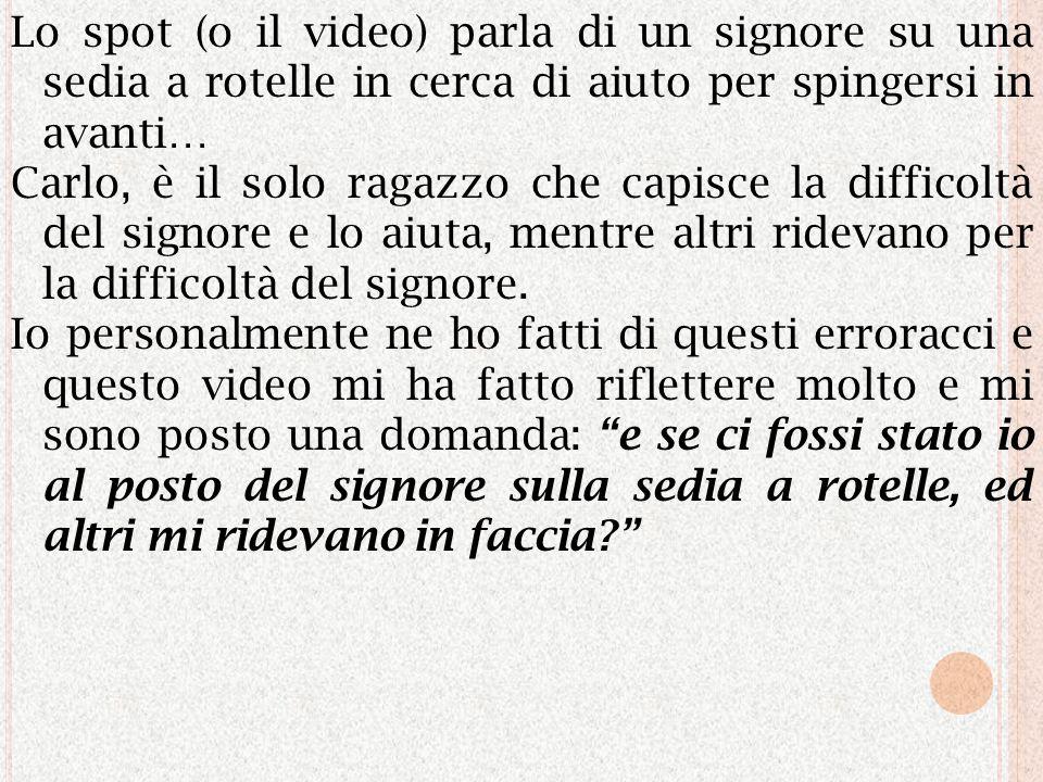 ARTICOLO 8 CARLO ACUTIS E… UNO SPOT CHE FA RIFLETTERE Scritto da FRANCESCO SASSANO