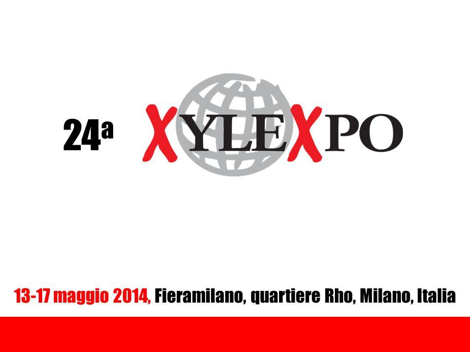 24 a 13-17 maggio 2014, Fieramilano, quartiere Rho, Milano, Italia