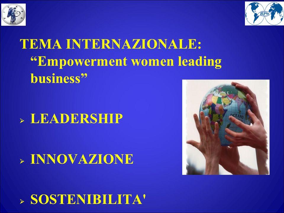 RIFLESSIONI E PROPOSTE Un gap culturale penalizza la donna dirigente, si ha poca fiducia nel suo operato, salvo che sia omologata all uomo.