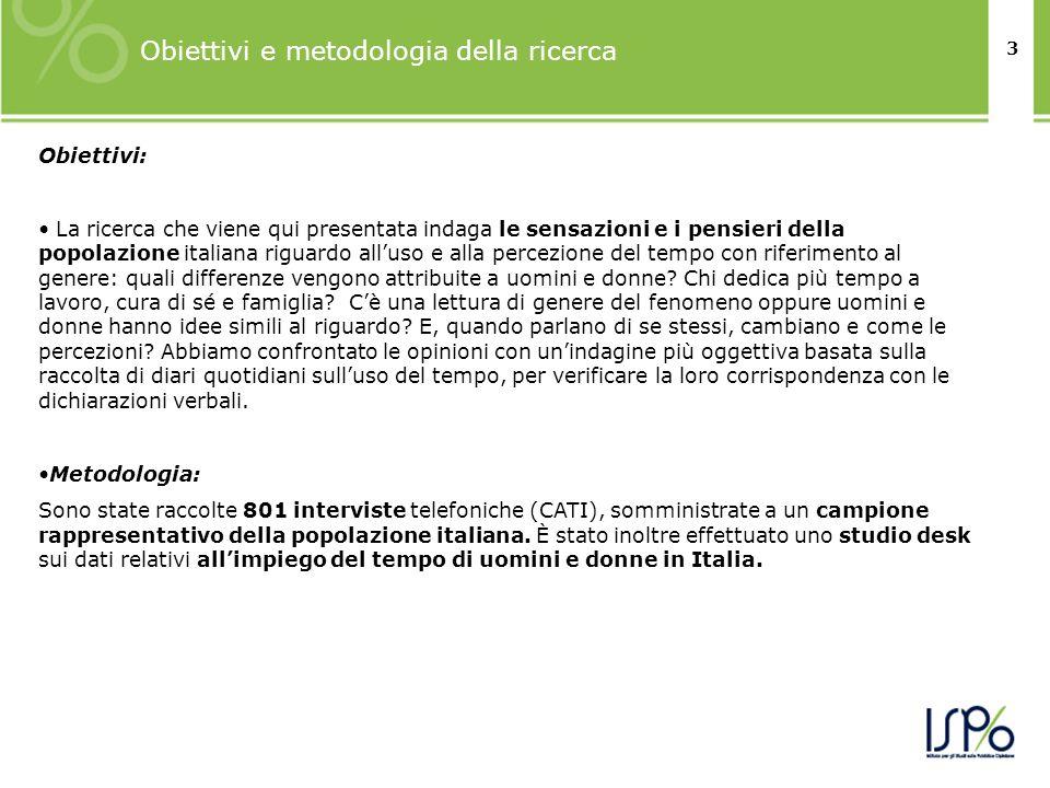 3 Obiettivi: La ricerca che viene qui presentata indaga le sensazioni e i pensieri della popolazione italiana riguardo alluso e alla percezione del te
