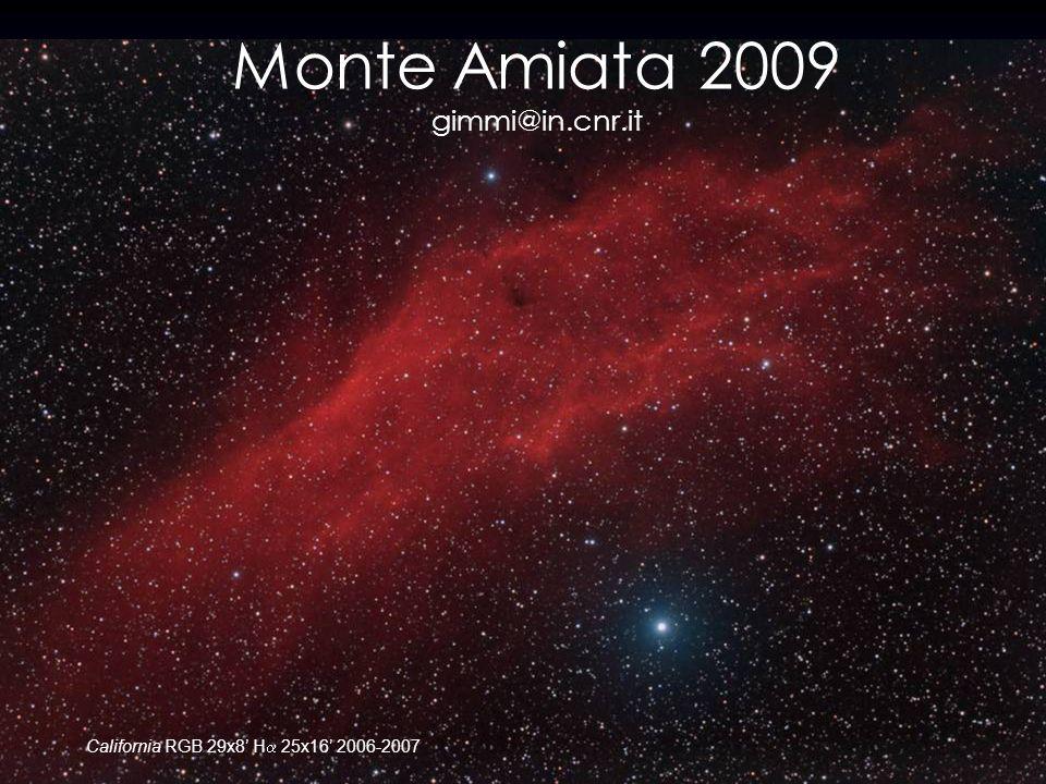 Monte Amiata 2009 gimmi@in.cnr.it California RGB 29x8 H 25x16 2006-2007