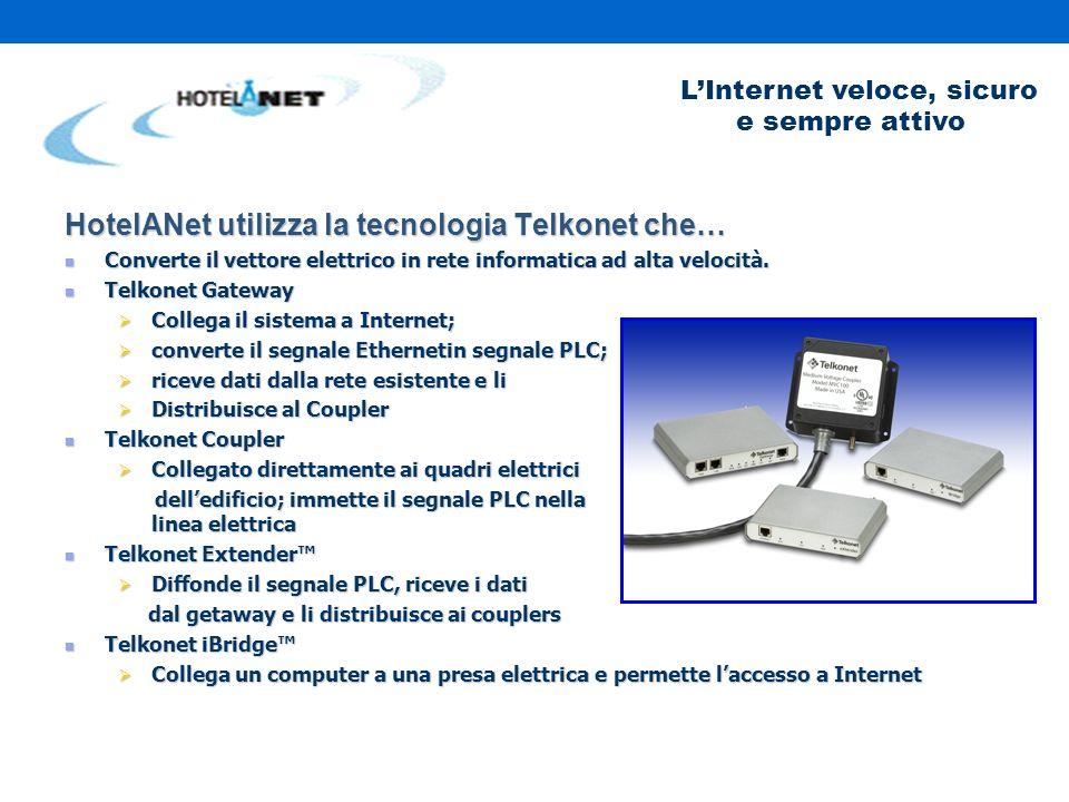 LInternet veloce, sicuro e sempre attivo Installazione Multipla
