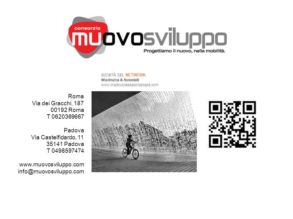 Roma Via dei Gracchi, 187 00192 Roma T 0620369667 Padova Via Castelfidardo, 11 35141 Padova T 0498597474 www.muovosviluppo.com info@muovosviluppo.com