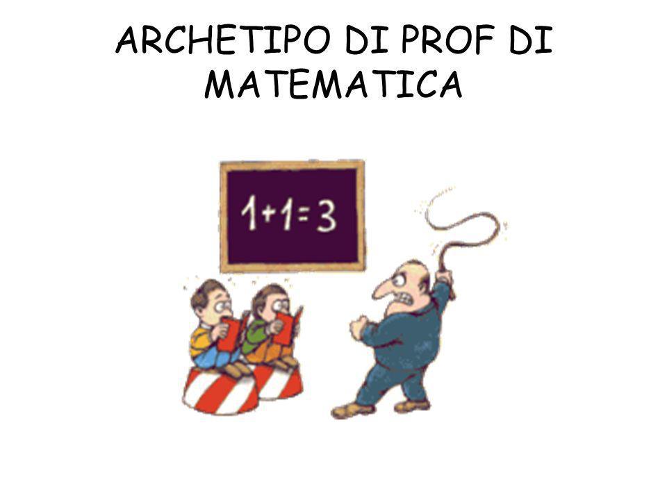 ARCHETIPO DI PROF DI MATEMATICA