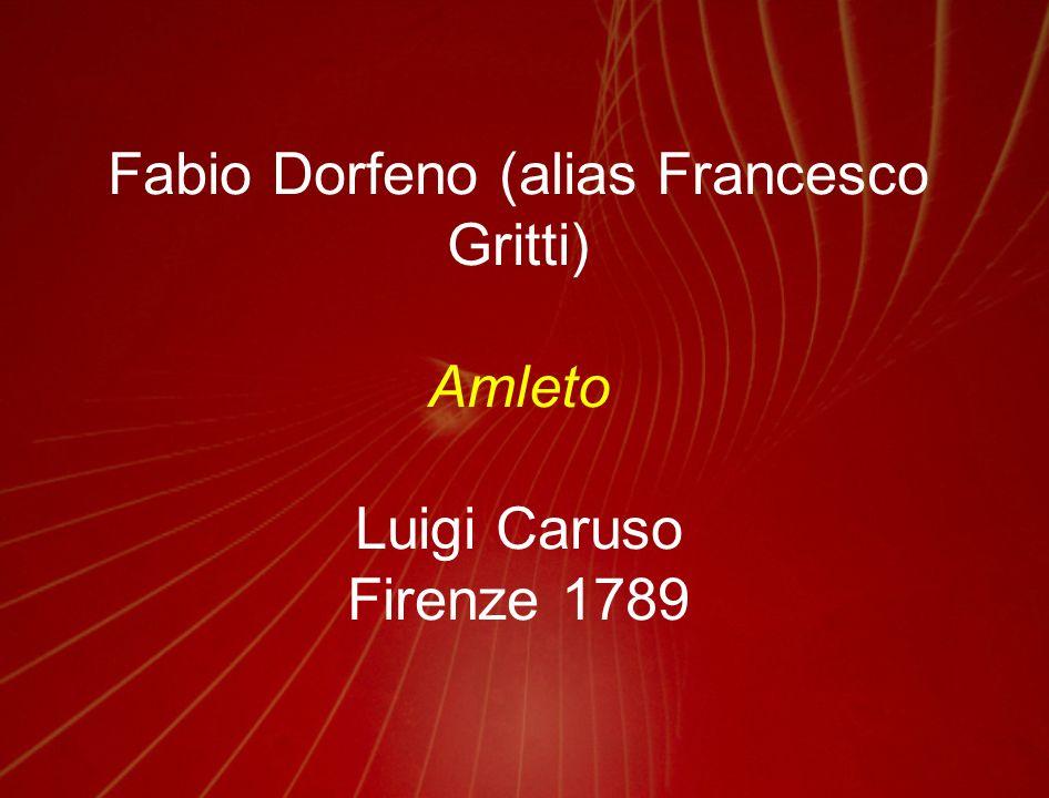 Giuseppe Maria Foppa Amleto Gaetano Andreozzi Padova 1792
