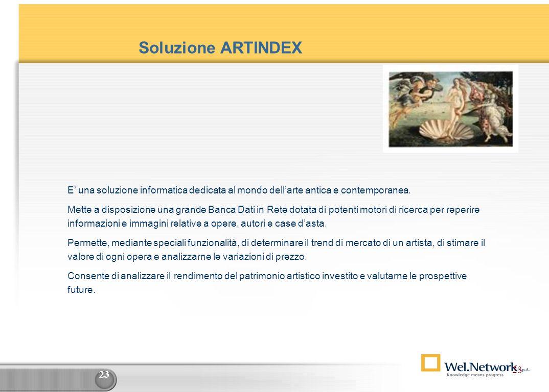 22 Penna Digitale / Sistemi mobile : esempio di utilizzo come alimentazione dati D.B. Aziendali Top Management Statistiche Simulazioni Cruscotti azien