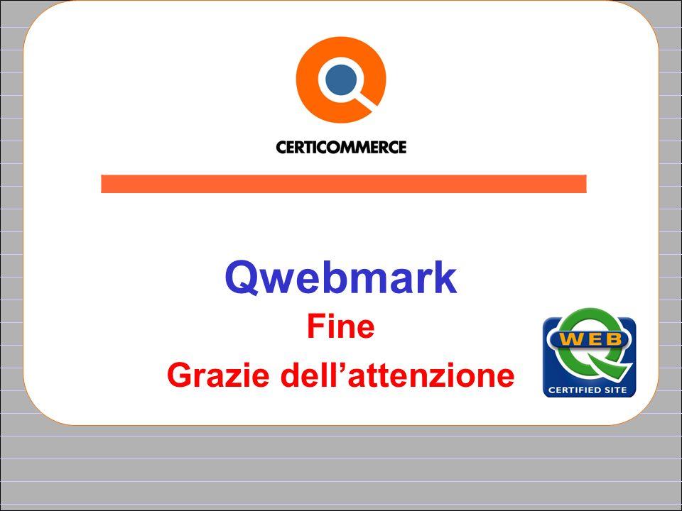 Qwebmark Fine Grazie dellattenzione