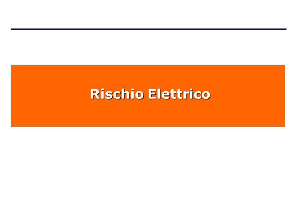 Rischio Elettrico Rischio Elettrico