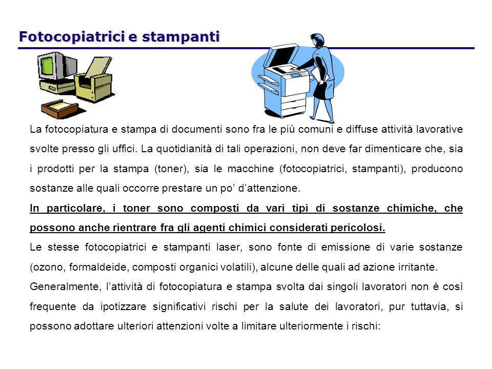 La fotocopiatura e stampa di documenti sono fra le più comuni e diffuse attività lavorative svolte presso gli uffici. La quotidianità di tali operazio
