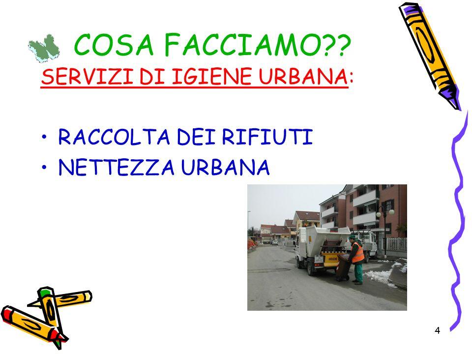 25 I rifiuti non sono, dunque, un PESO, un inutile FARDELLO bensi… una RISORSA = RICCHEZZA !!.