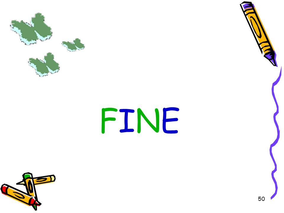 50 FINE