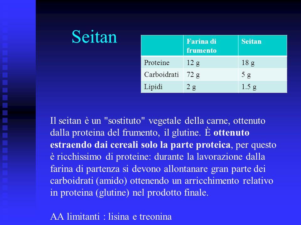 Seitan Il seitan è un