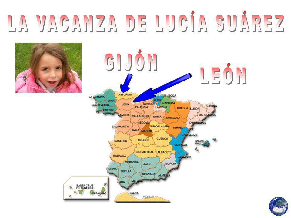 Lucia Suarez era in vacanza a Leon, a casa di Vanessa e Roge zii e cugini.