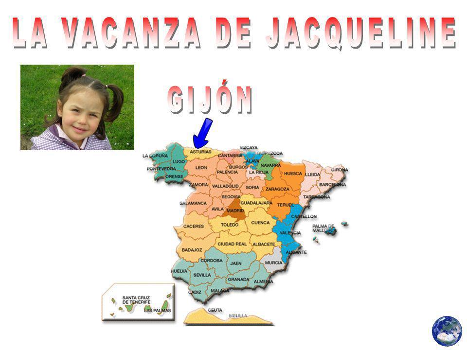 Jacqueline trascorso la sua divertente vacanza a Gijon.