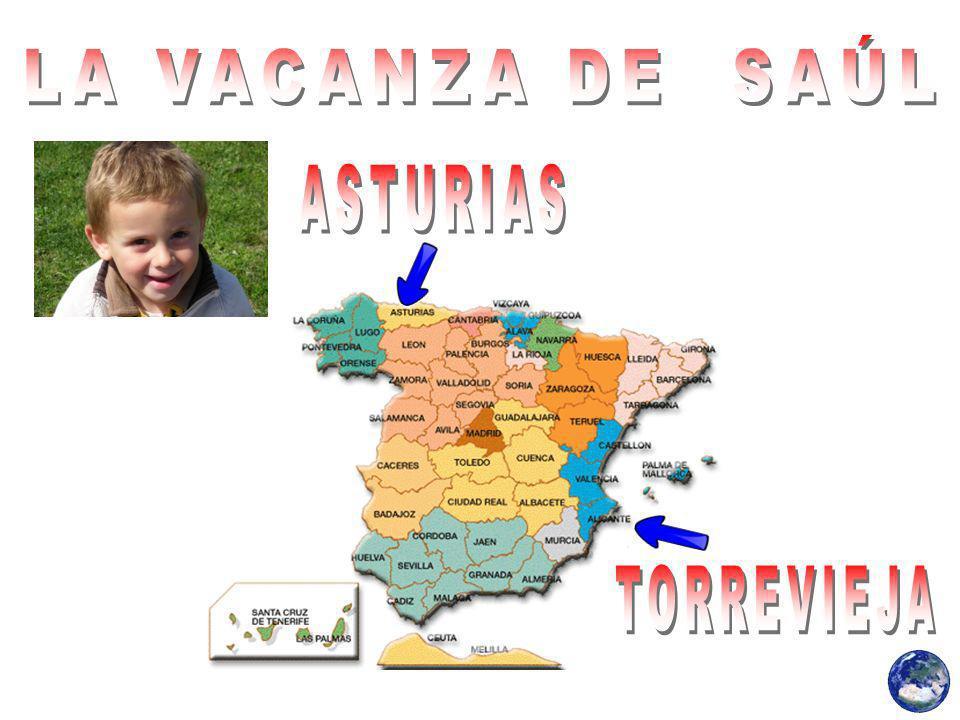 Saul viaggiato in auto a Torrevieja, ad Alicante, città bagnata dal Mar Mediterraneo.