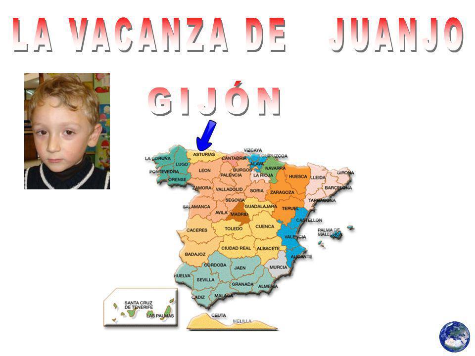Juanjo goduto l estate a Gijón, con la sua famiglia.