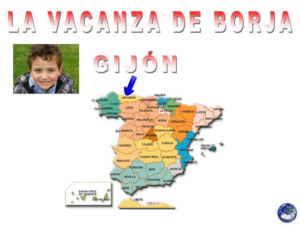 Borja questa vacanza è stato in un campeggio, ma non riesco a ricordare dove si trovava.