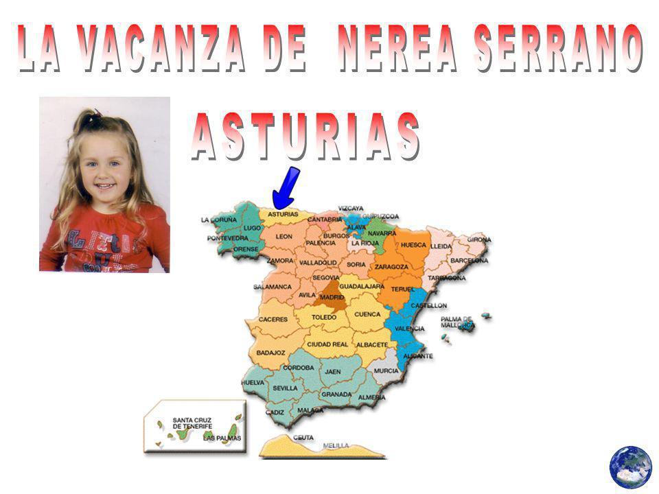 Nerea Serrano visitato il suo villaggio, chiamato Villarmental, che è in Cangas del Narcea (Asturie), in montagna.