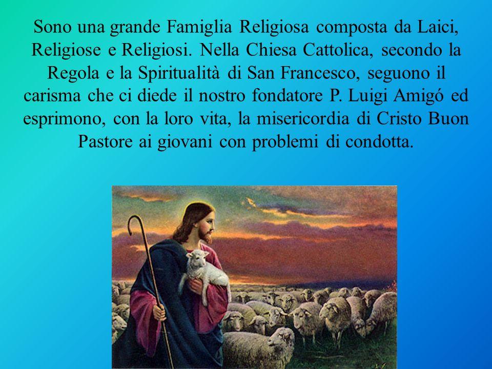 Sono una grande Famiglia Religiosa composta da Laici, Religiose e Religiosi. Nella Chiesa Cattolica, secondo la Regola e la Spiritualità di San France