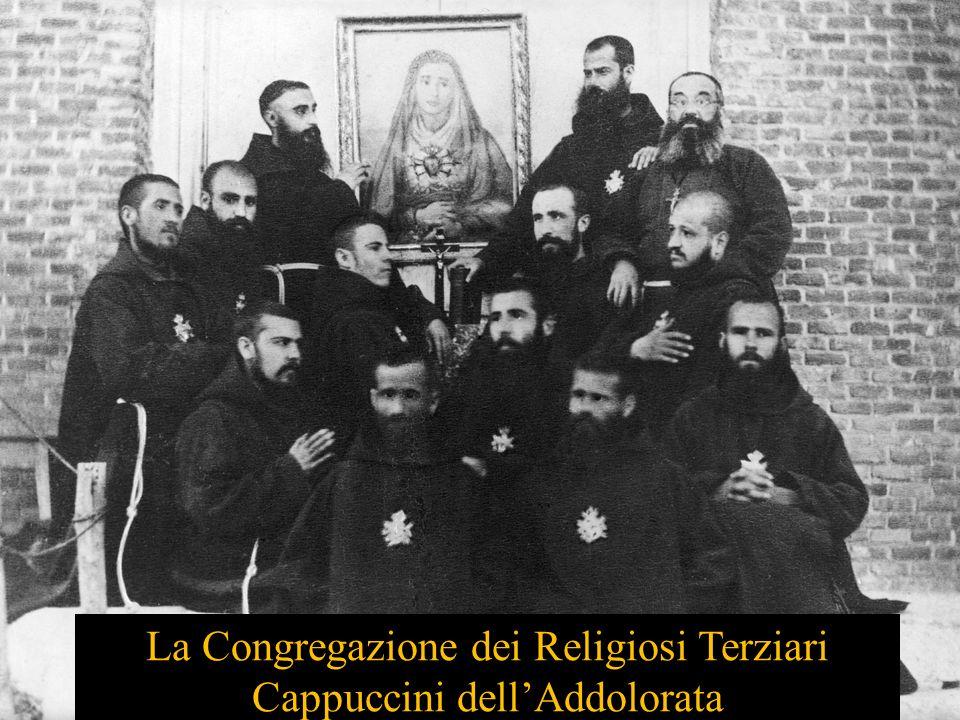 La Congregazione dei Religiosi Terziari Cappuccini dellAddolorata