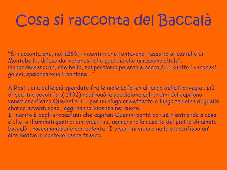 Cosa si racconta del Baccalà