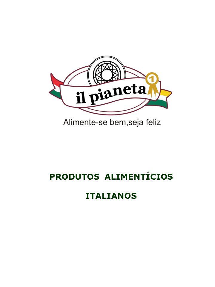 PRODUTOS ALIMENTÍCIOS ITALIANOS