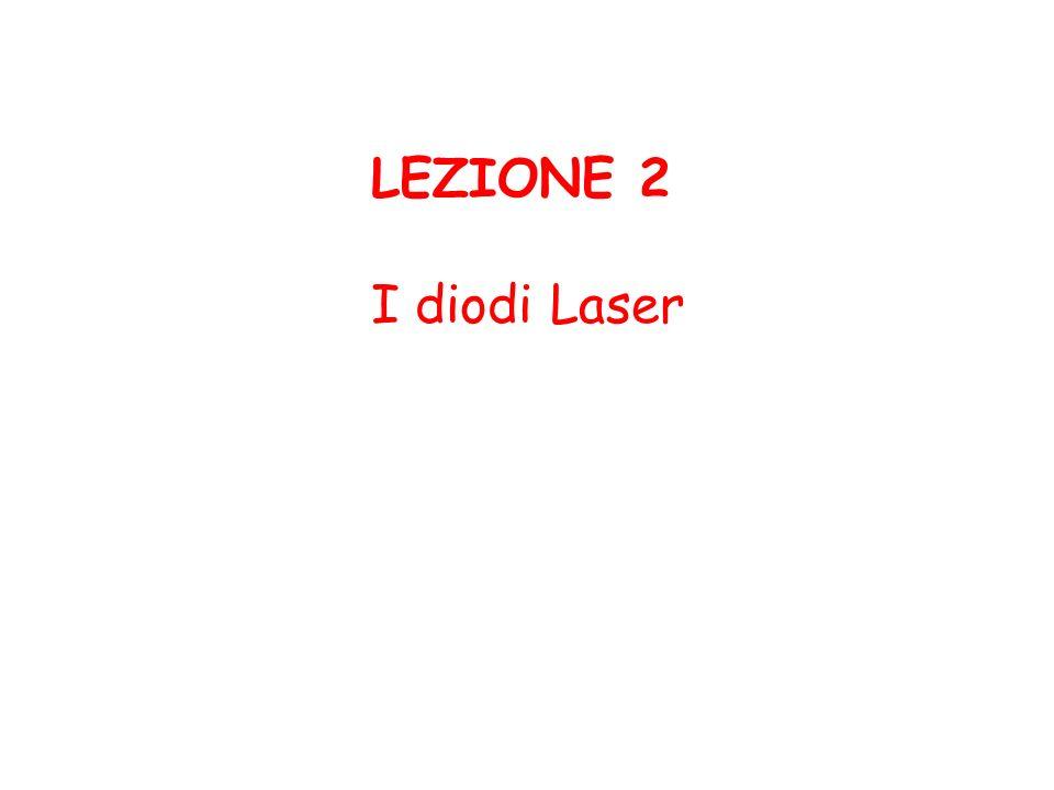 LEZIONE 2 I diodi Laser