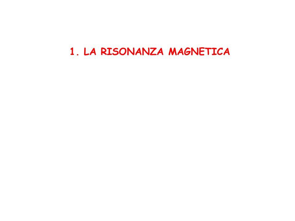 1. LA RISONANZA MAGNETICA