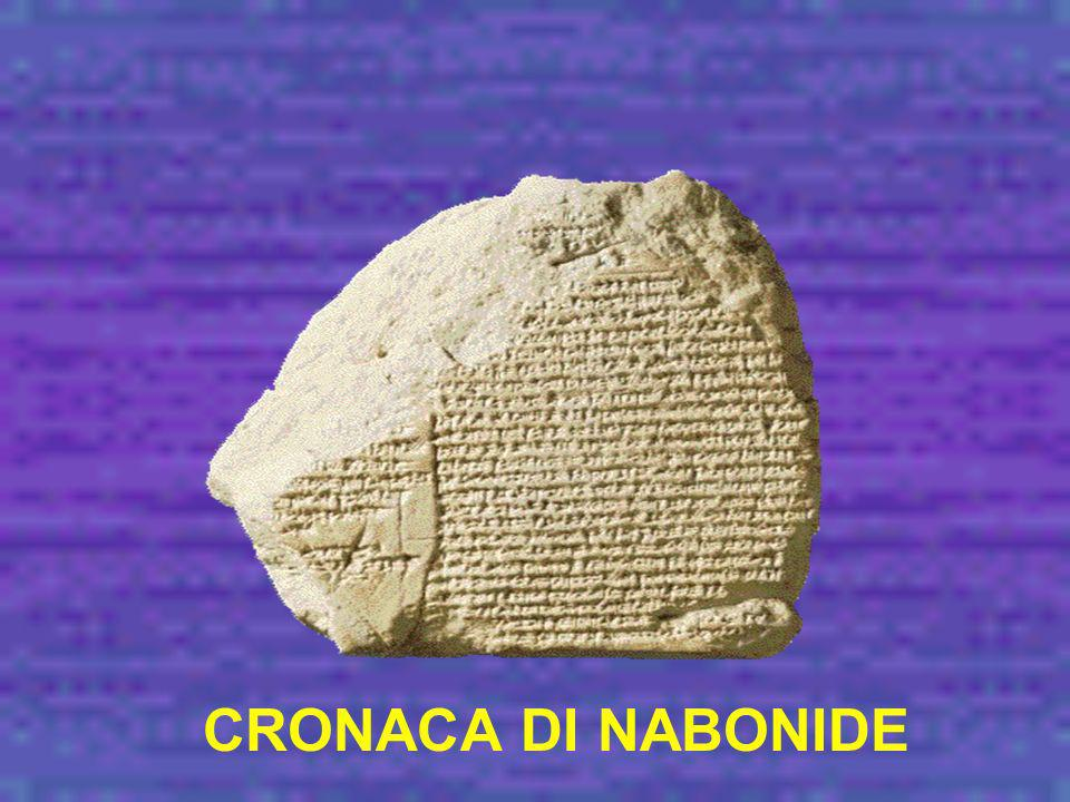 CRONACA DI NABONIDE