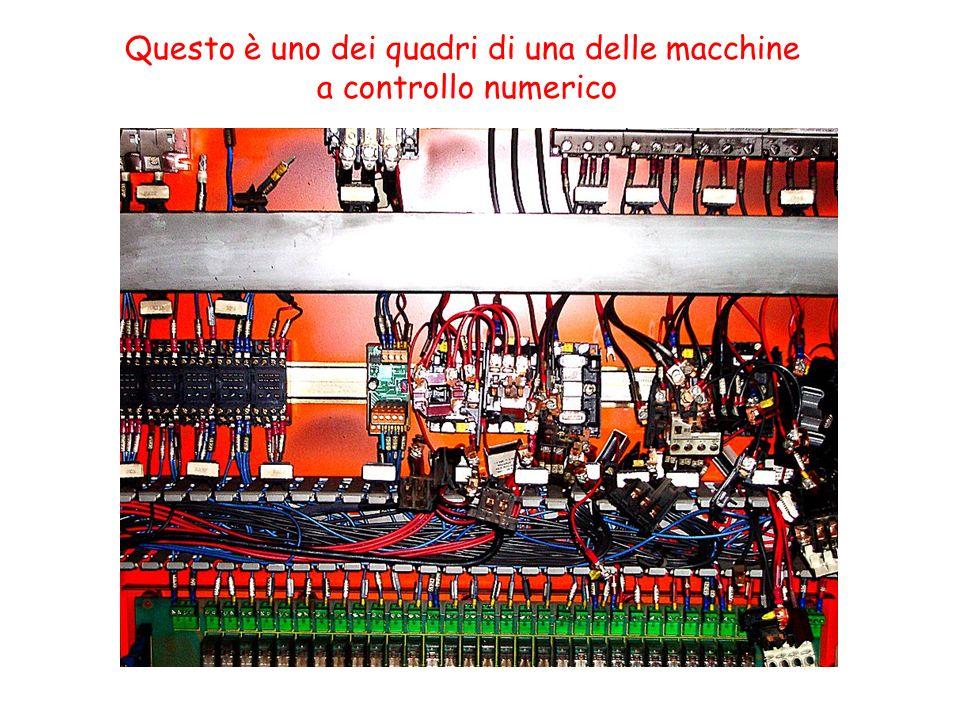 Questo è uno dei quadri di una delle macchine a controllo numerico