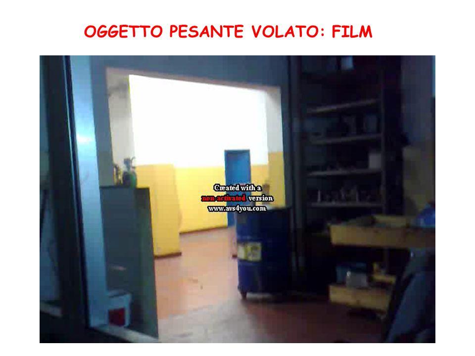OGGETTO PESANTE VOLATO: FILM