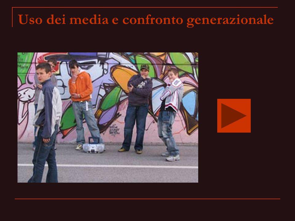 Uso dei media e confronto generazionale