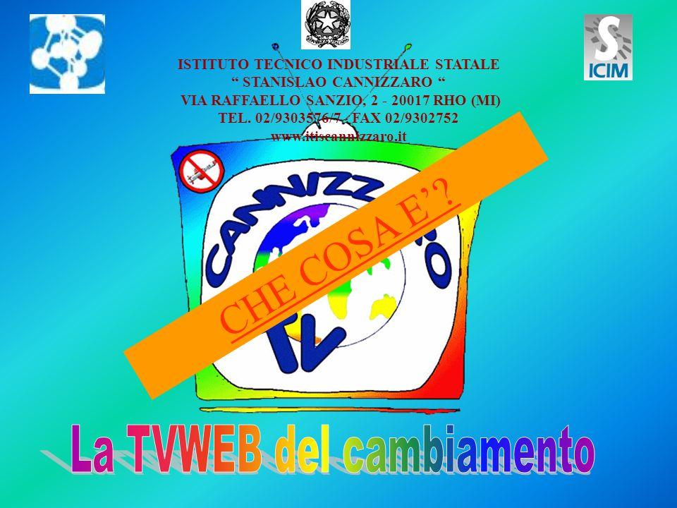 CHE COSA E? ISTITUTO TECNICO INDUSTRIALE STATALE STANISLAO CANNIZZARO VIA RAFFAELLO SANZIO, 2 - 20017 RHO (MI) TEL. 02/9303576/7 - FAX 02/9302752 www.