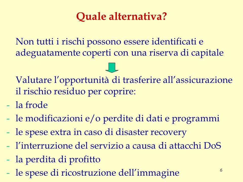 6 Quale alternativa.