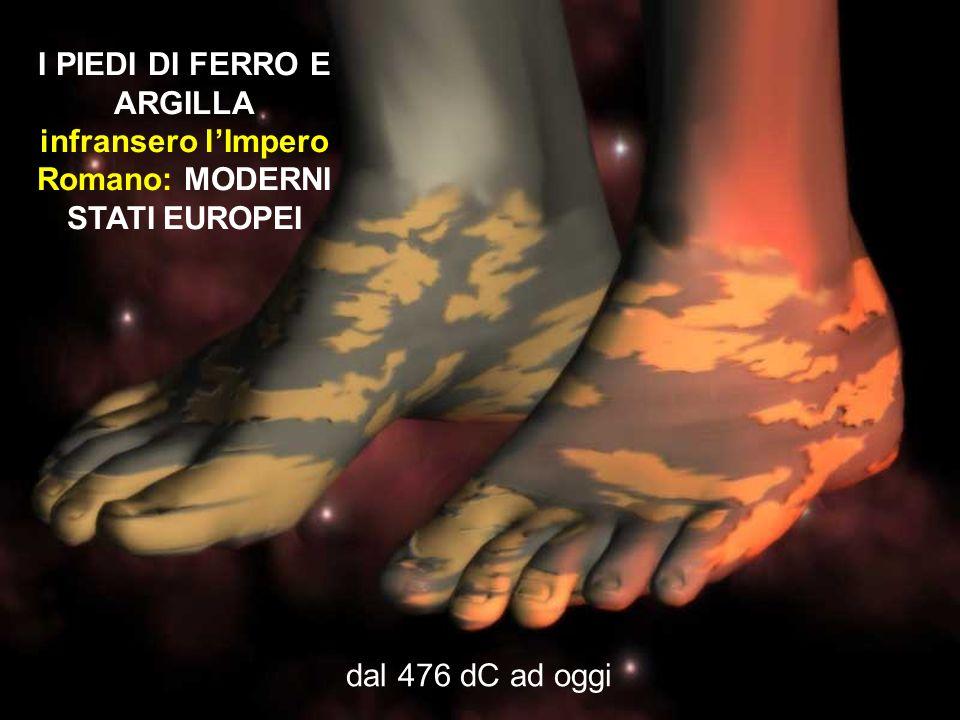 I PIEDI DI FERRO E ARGILLA infransero lImpero Romano: MODERNI STATI EUROPEI dal 476 dC ad oggi