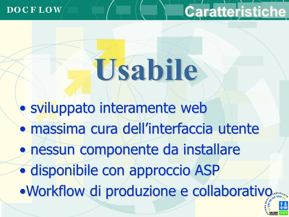 sviluppato interamente web sviluppato interamente web massima cura dellinterfaccia utente massima cura dellinterfaccia utente nessun componente da ins