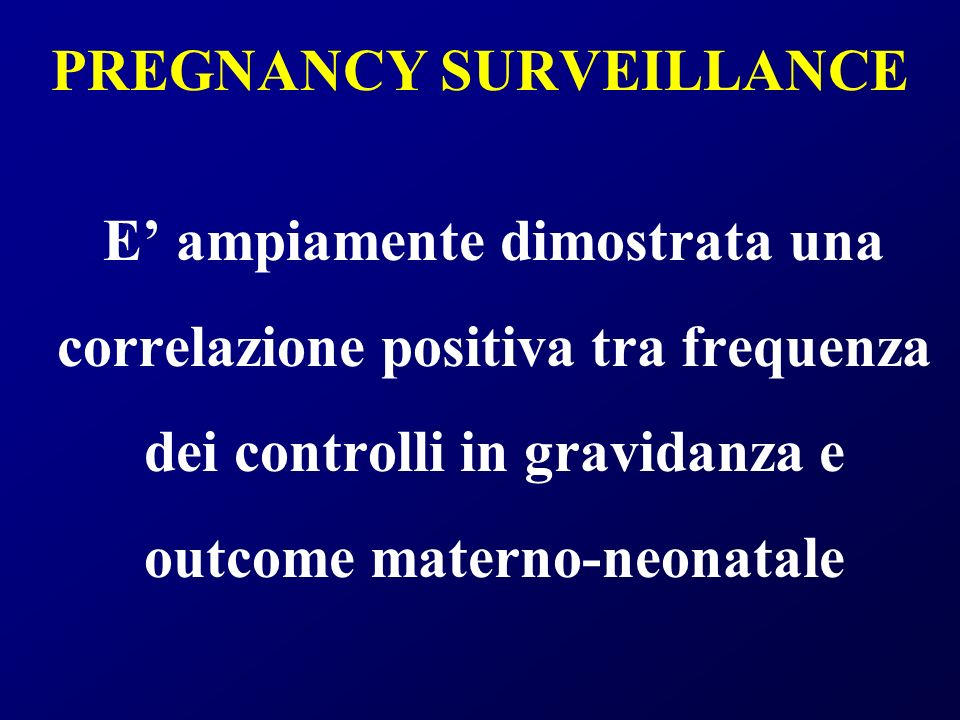 RACCOMANDAZIONE RCOG 2003 Pregnant women should be offered screening for HIV infection early in antenatal care because appropriate antenatal interventions can reduce mother-to-child transmission of HIV infection.