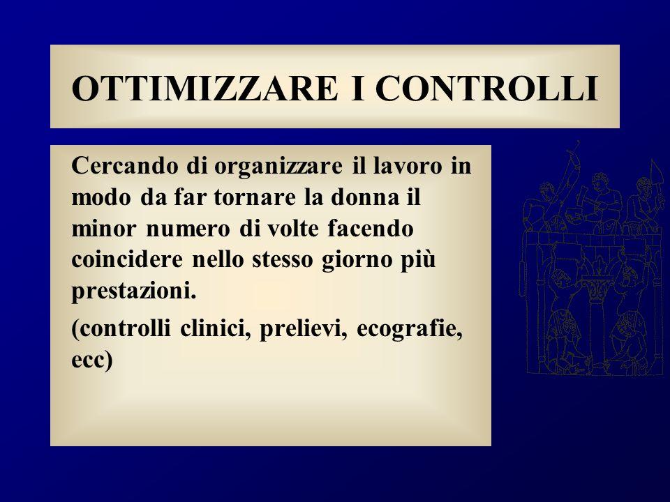 Motivo della prescrizione Abitudine Fornire unidea alla paziente che tutto e di più è sotto controllo Schema razionale dettato da decreto ministeriale (DM 10/09/1998)