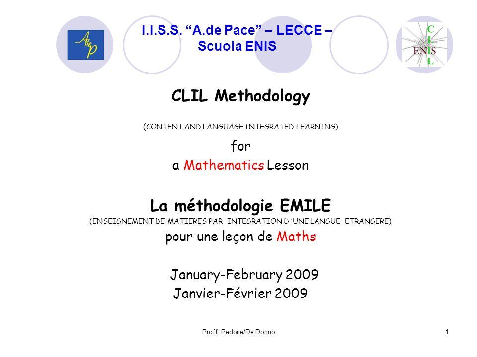 Contenuti integrati e condivisi: 1.Il linguaggio simbolico, verbale e scritto 2.I simboli grafici (dallalfabeto ai segni matematici) 3.La numerazione e le misure di grandezza 4.La frase semplice 5.La frase dichiarativa, negativa ed interrogativa 6.I connettivi logici 7.La sequenzialità delle frasi 8.Lequivalenza e la comparazione 9.Le relazioni esistenti tra gli enti geometrici 12 Proff.