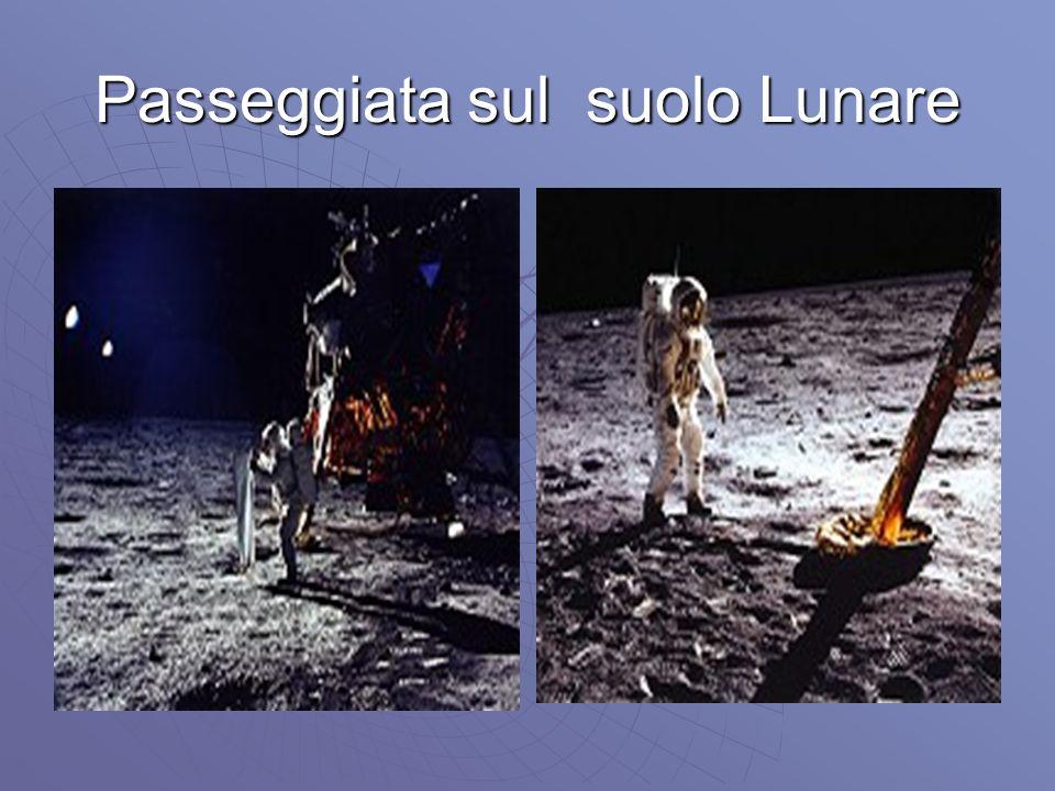 Passeggiata sul suolo Lunare