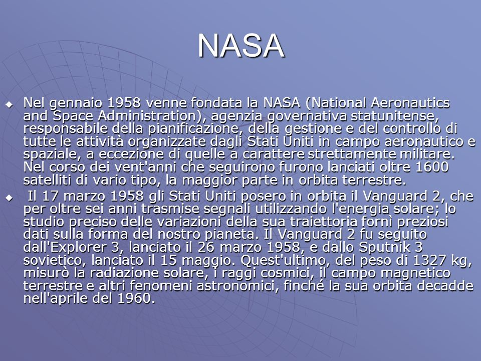 La conquista della Luna La Luna fu l obiettivo di molte missioni spaziali, tuttavia i primi tentativi di inviare nello spazio sonde lunari non ebbero successo.