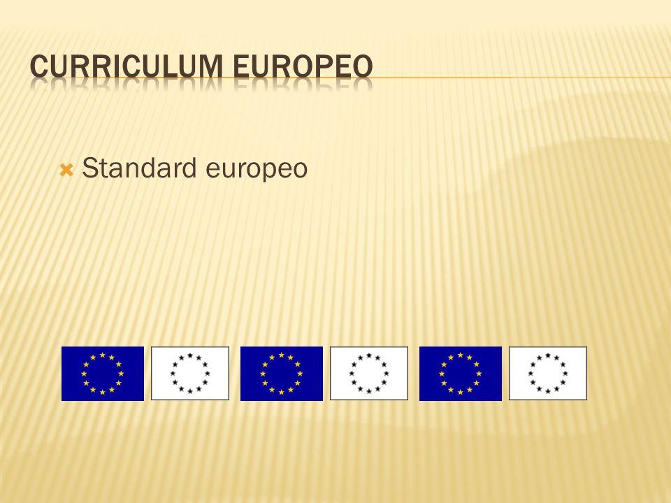 Standard europeo