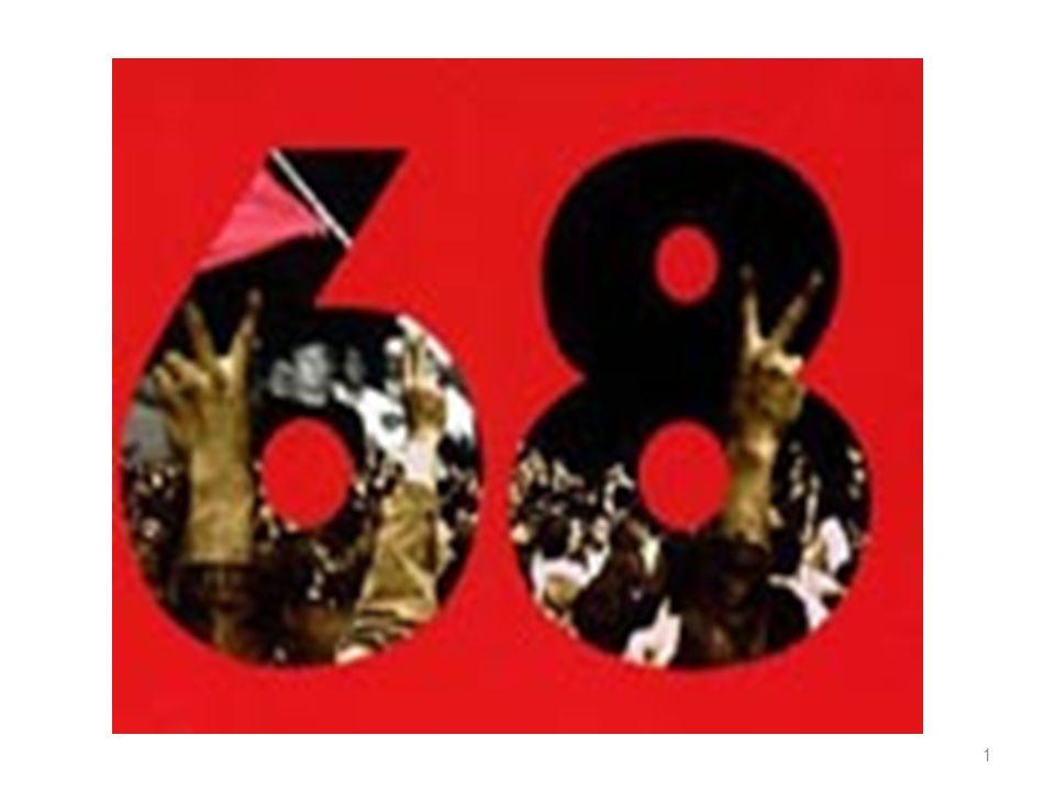 1968 Anno della contestazione il passaggio dalluomo della tribù a quello del PIANETA.