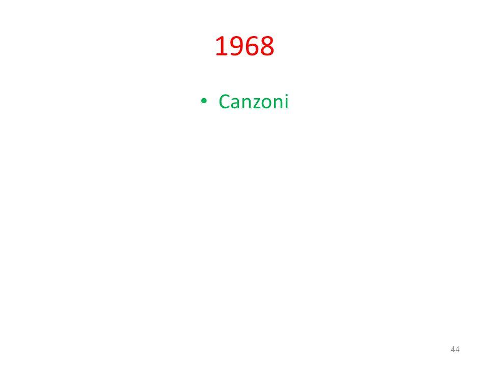 1968 Canzoni 44