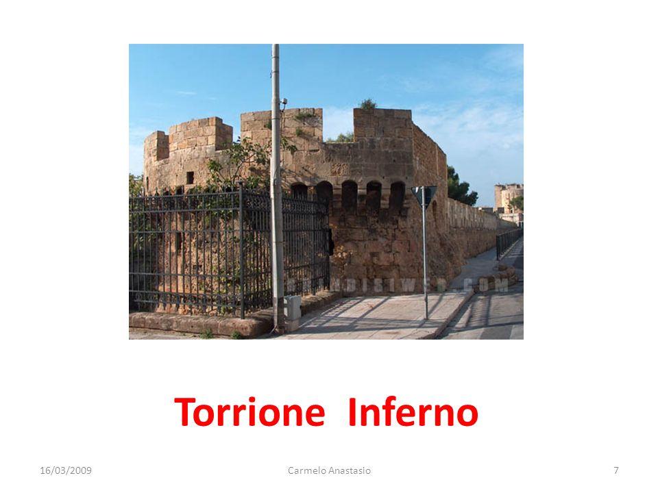 Torrione Inferno 16/03/2009Carmelo Anastasio7
