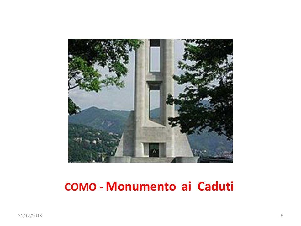 COMO - Monumento ai Caduti 31/12/20135
