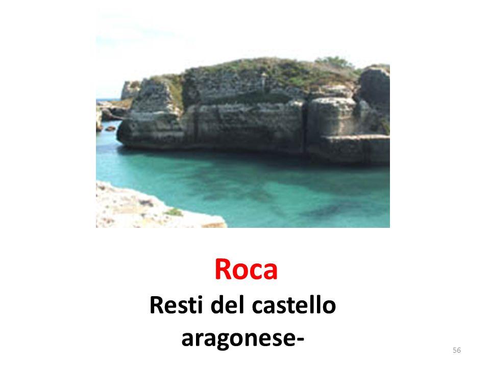 Roca Mura esterne di difesa della zona fortificata 57
