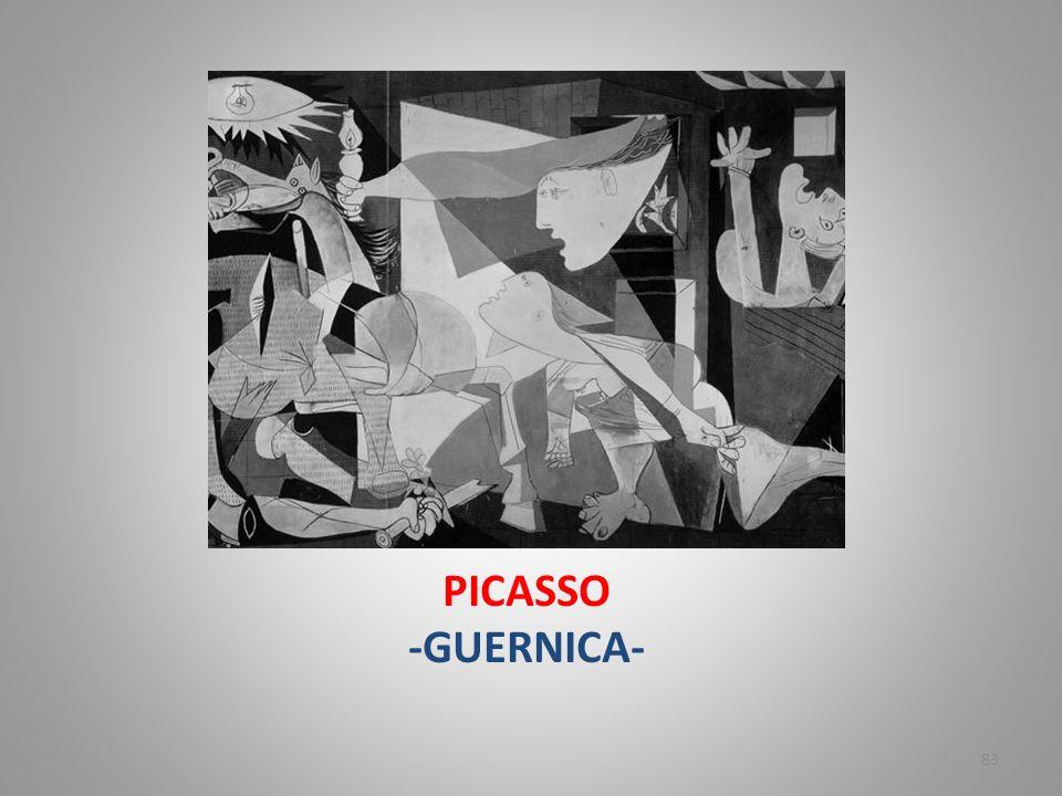 PICASSO -GUERNICA- 83