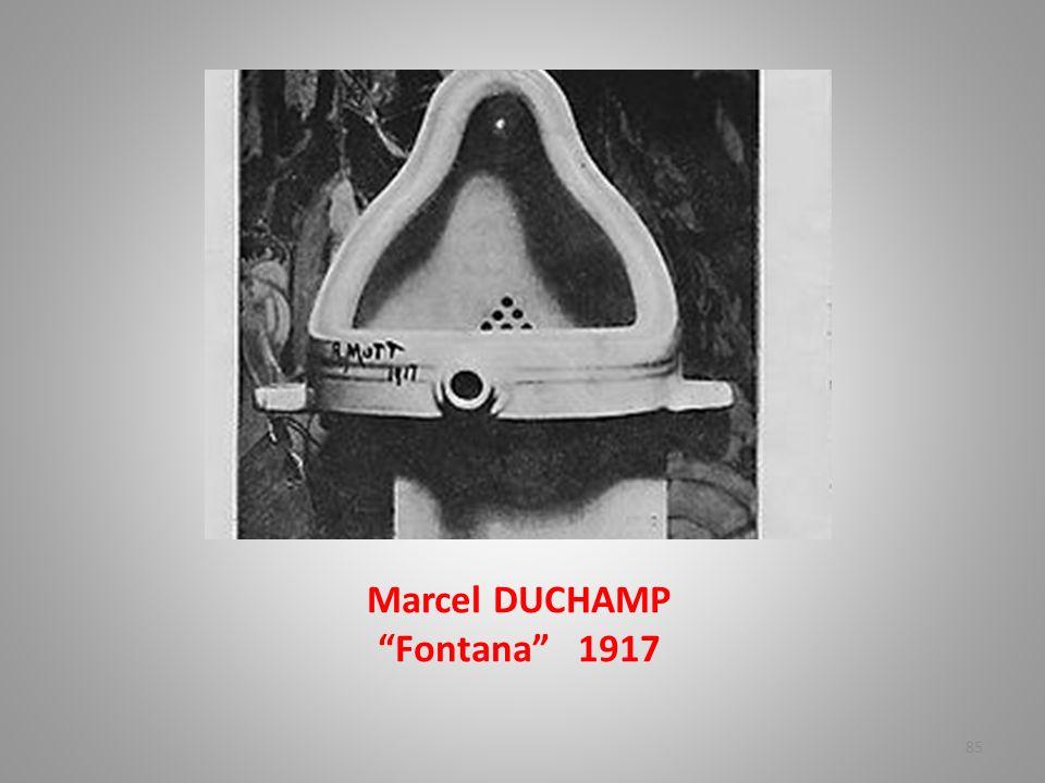 Marcel DUCHAMP Fontana 1917 85